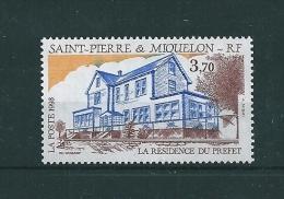 Timbres De St Pierre Et Miquelon  De 1993  N°584  Neufs ** Prix De La Poste - St.Pierre & Miquelon
