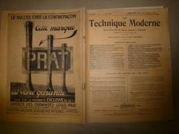1er Mai 1929         LA TECHNIQUE MODERNE :  Et Aussi...L´ Avion, L´ Hélicoptère , L´ Autogire - Livres, BD, Revues