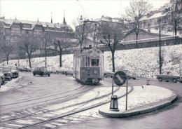 Chemin De Fer CGTE, Tram à Genève, Photo 1967 BVA CGTE 172.8 - GE Ginevra