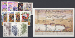 Isole Faroer 1986 Annata Completa / Complete Year Set **/MNH VF - Islas Faeroes