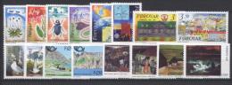 Isole Faroer 1991 Annata Completa / Complete Year Set **/MNH VF - Färöer Inseln