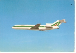 AIRPLANE BOEING 727/200, AIRLINE ALITALIA  ITALY - 1946-....: Moderne