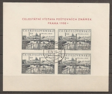 CHECOSLOVAQUIA 1950 - Yvert #H15 - VFU - Checoslovaquia