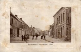 WALLINCOURT - Rue Pierre  Flinois (en L'état Décollé) - Altri Comuni