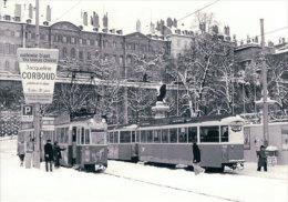 Chemin De Fer TPG-CGTE, Tram à Genève, Photo 1979 BVA CGTE 192.3 - GE Ginevra