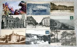 Lot De 100 Cartes Postales Anciennes Cpa De France 1900 - 1945 Villes Villages Portraits Monuments Illustrations  Etc .. - 100 - 499 Postales