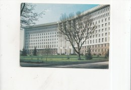 ZS38975 The Building Of The Central Comittee Of The Communist Party Of Moldavia      2 Scans - Moldavie