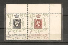 LUX488/89 / Paar CENTILUX 1952  Paar Mit Eckrand**