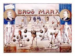 @@@ MAGNET - Bros. Marx Strongman - Publicitaires