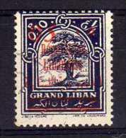 Lebanon - 1928 - 5c Surcharge - Used/CTO - Liban