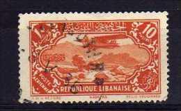 Lebanon - 1930 - 10P Airmail - Used - Liban