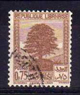 Lebanon - 1940 - 75c Definitive - Used/CTO - Liban