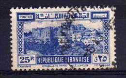 Lebanon - 1945 - 25p Tripoli Castle - Used - Liban