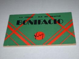 Lot Carnet 11 CPA CPSM CP POSTCARD Complet 20 A CORSE BONIFACIO Dt Animé  ED ART YVON V1910/30 - France
