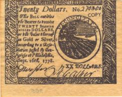 ETATS UNIS, COPY OF BANKNOTE NOT ORIGINAL.  (3B5) - Small Size - Petite Taille (1928-...)