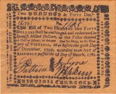 ETATS UNIS, COPY OF BANKNOTE NOT ORIGINAL.  (3B6) - Small Size - Petite Taille (1928-...)