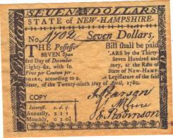 ETATS UNIS, COPY OF BANKNOTE NOT ORIGINAL.  (3B9) - Small Size - Petite Taille (1928-...)
