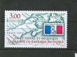 Timbres De St Pierre Et Miquelon  De 1998  N°680   Neufs ** Parfait Prix De La Poste - Nuevos