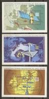 ESPACIO - DDR 1972 - Yvert #H29/31 - MLH * - Espacio