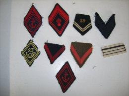 Galons Militaires 5 - Ecussons Tissu