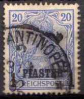 Deutsche Post In Türkei Mi 14 I, Gestempelt [210613VI] @ - Bureau: Turquie