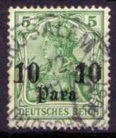 Deutsche Post In Türkei Mi 36, Gestempelt [210613VI] @ - Bureau: Turquie