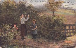 TUCK # 9044 , Country Life Ser. IV , Kids Playing , PU-1907 - Tuck, Raphael