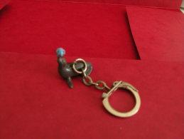 Porte Clef - Le Phoque De Cirque (Année 50/60/70 Occasion 2 Photos) - Porte-clefs