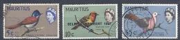 130504409   MAURICIO G.B. YVERT   Nº  269/270/300 - Mauricio (...-1967)