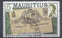 130504414   MAURICIO G.B. YVERT   Nº  465 - Mauricio (...-1967)