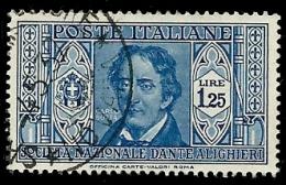 Italie - Année 1932 - Y & T  N° 290  Oblitéré - Usati