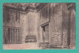 ANGKOR VAT [CAMBODGE] --> Mur Du Portique De La Tour Centrale. Enceinte Extérieure - Cambodia