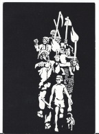 CPSM  C'est Le Peuple Qui Porte Le Flambeau De La Victoire - Brazilië