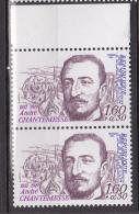 N° 2229 Personnages Célèbres: André Chantemesse 1851-1919 Médecin Bactériologiste :Une Paire De 2  Timbres - France