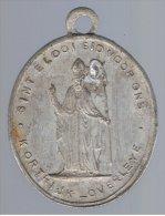 383-6  Médaille Religieuse  Les Saints  St Saint  Eloi Courtrai Kortrijk Overleve - Religione & Esoterismo