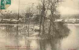 Juin13 1477 : La Ferté-sous-Jouarre  -  Pointe De L'Ile  -  Inondations 1910 - La Ferte Sous Jouarre