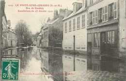 Juin13 1479 : La Ferté-sous-Jouarre  -  Inondations 1910  -  Rue De Condetz - La Ferte Sous Jouarre
