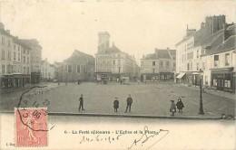 Juin13 1484 : La Ferté-sous-Jouarre  - Eglise  -  Place - La Ferte Sous Jouarre