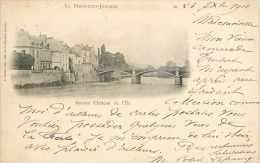 Juin13 1495 : La Ferté-sous-Jouarre  -  Ancien Château De L'Ile  -  Pont - La Ferte Sous Jouarre