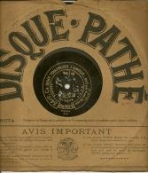 90 Tours Saphir PATHE 1909/1912 N° 3151 CA SENT TOUJOURS L'AMOUR Chté Karl DITAN + PETIT BONHEUR - 78 G - Dischi Per Fonografi