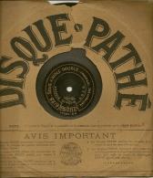 90 Tours Saphir PATHE 1909/1912 N° 6128 SOUS L'AIGLE DOUBLE (pas Redoublé)+6123 BOCCACE (marche) - 78 G - Dischi Per Fonografi