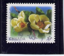 CANADA, 2013, USED ,   MAGNOLIA, SINGLE   USED - 1952-.... Règne D'Elizabeth II