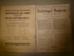 1er Août 1929  LA TECHNIQUE MODERNE : Et  : Pub Locomotive Type Nord-Est;  Le TRAMWAY Articulé Type Nieskly; - Livres, BD, Revues