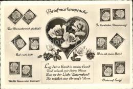 Kk69769 Briefmarkensprache Rosen Briefmarken Kat. Philatelie - Non Classés