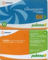 Telefonkarte El Salvador  - Publitel -  Logo - El Salvador