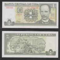 RM)1 PESOS CUBANO, 2010 UNC PRISTINE CONDITION- - Cuba