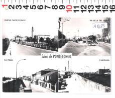 A1483 PONTELONGO VEDUTE VARIE - Padova
