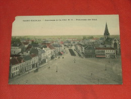 SINT-NIKLAAS  -  SAINT-NICOLAS  - Panorama De La Ville  -  1908 - Sint-Niklaas