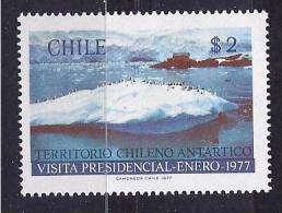 Chile1977: Michel865(Yvert477) ANTARCTICA Mnh** - Polar Philately