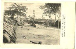 Congo - Dans L'Oubanghi - Une Rue Du Village Bondjos De Bétou - Belgisch-Kongo - Sonstige